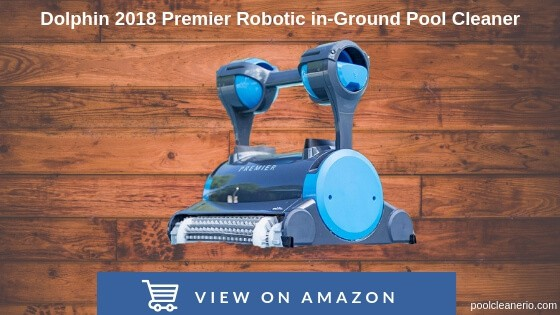 Dolphin 2020 Premier Robotic in-Ground Pool Cleaner