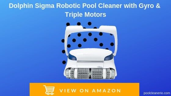 Dolphin Sigma Robotic Pool Cleaner with Gyro & Triple Motors