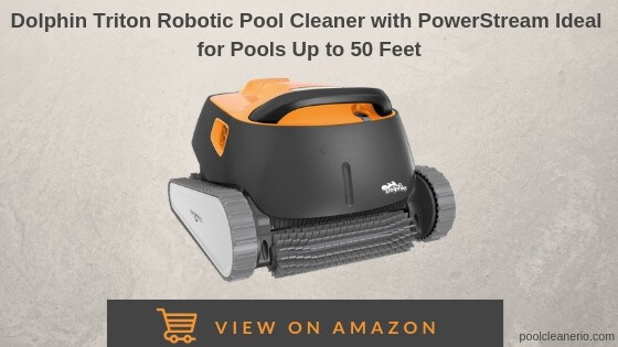 Dolphin Triton Robotic Pool Cleaner With Powerstream Reviews
