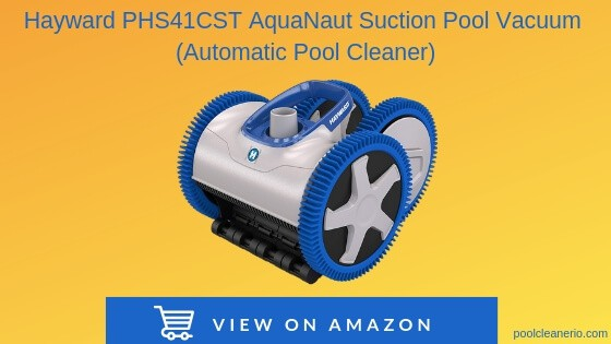 Hayward PHS41CST AquaNaut Suction Pool Vacuum (Automatic Pool Cleaner)
